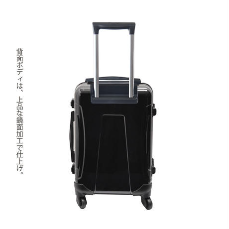 アートスーツケース #CRA01H-053E|レトロファンクション(ブルーピンクイエロー)