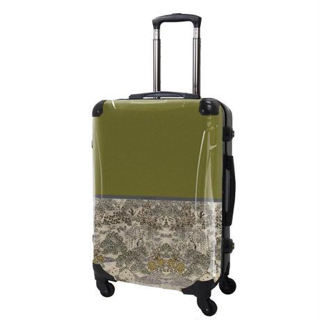アートスーツケース#CRA03H-018G|ジャパニーズモダン 旅人(グリーン)