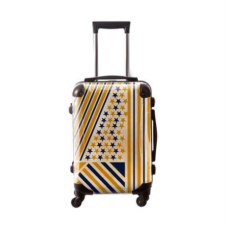 アートスーツケース #CRA01H-014D ポップニズム アメリカン(ネイビー×ゴールド)