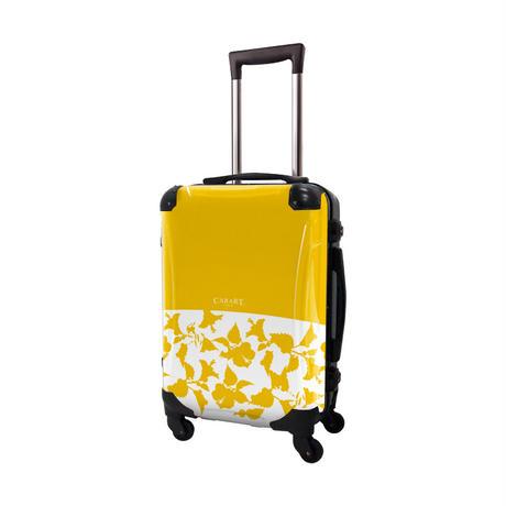 アートスーツケース #CRA01H-006J ベーシック ピポパ(イエロー)