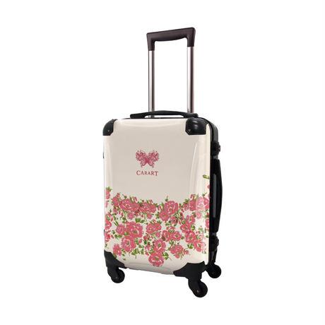 アートスーツケース #CRA01H-011F|プロフィトロール フラワー(ホリデイピンク)