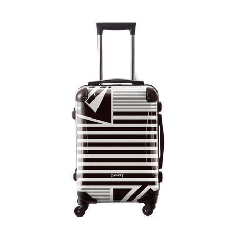 アートスーツケース #CRA01H-015E|ベーシック カジュアルボーダー(モノトーン)