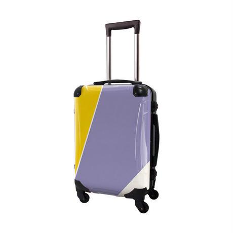 アートスーツケース #CRA01H-034D ベーシック シューティカルコーデ(フリージア×バイオレット チューリップ)