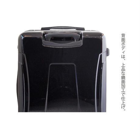 アートスーツケース#CRA03H-018C ジャパニーズモダン 旅人(ダークレッド)