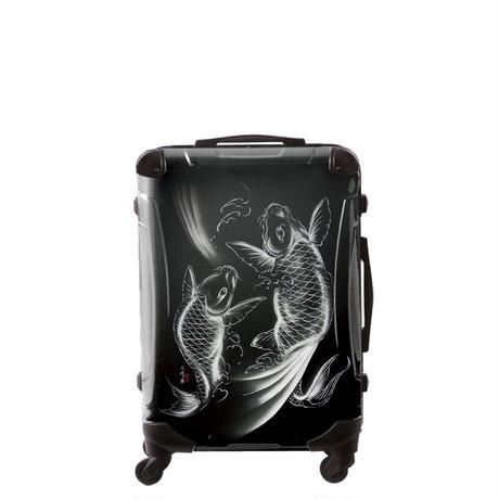 アートスーツケース#CRA03H-J10138|広純 鯉恵(ダークグレー)