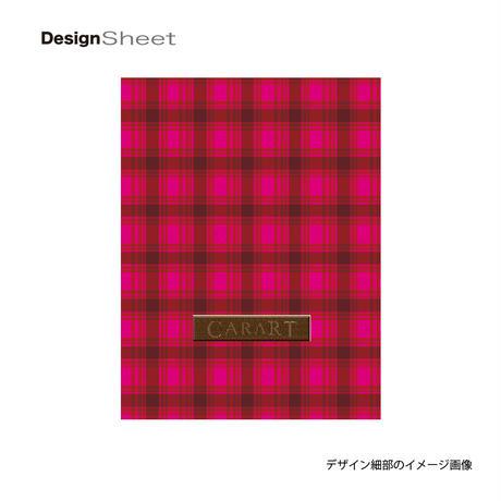 アートスーツケース #CRA01H-023K|ベーシック カラーチェックモダン(ピンク1)