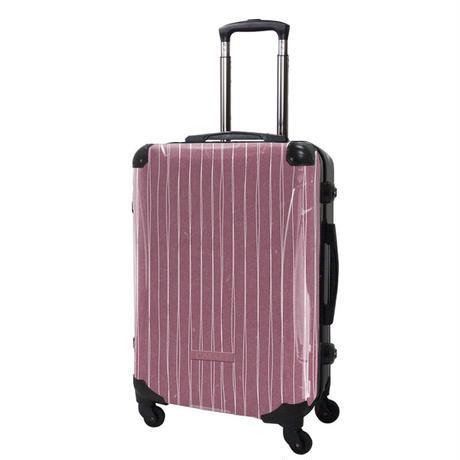 アートスーツケース#CRA03H-042B|ジャパニーズ旅趣 | 線麗(桃花色)