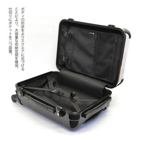アートスーツケース #CRA01H-049A|ジャパニーズ 印伝調 網代(ブラック)