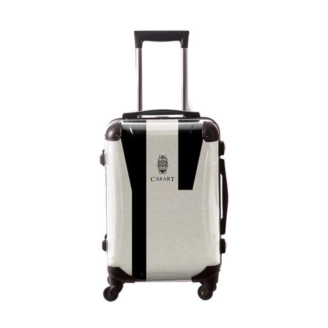 アートスーツケース #CRA01H-031F|ビジネスナイト(モノトーン)