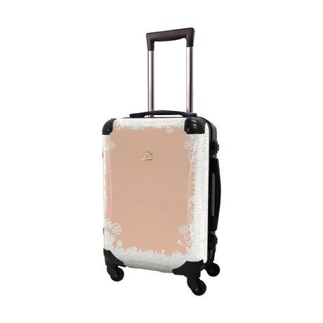 アートスーツケース #CRA01H-051A|プロフィトロール スウィート(コーラルピンク)