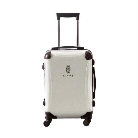 アートスーツケース #CRA01H-031E|ビジネスナイト(ホワイト)