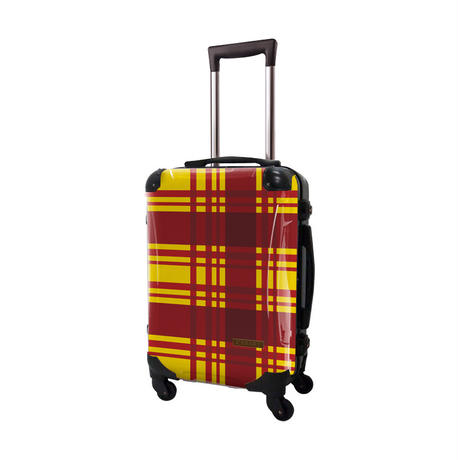 アートスーツケース #CRA01H-023X|ベーシック カラーチェックモダン(イエロー4)