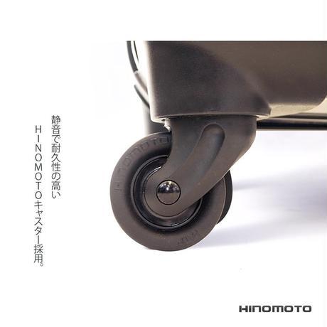 アートスーツケース#CRA03H-003B|ベーシック 豹(シルバー)