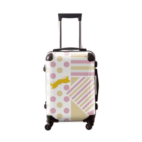 アートスーツケース #CRA01H-012C|プロフィトロール ポポ(ピンク)