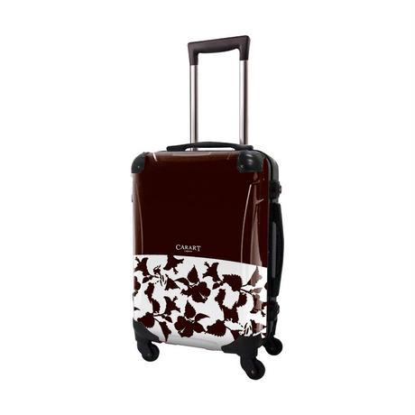 アートスーツケース #CRA01H-006O|ベーシック ピポパ(ダークブラウン)