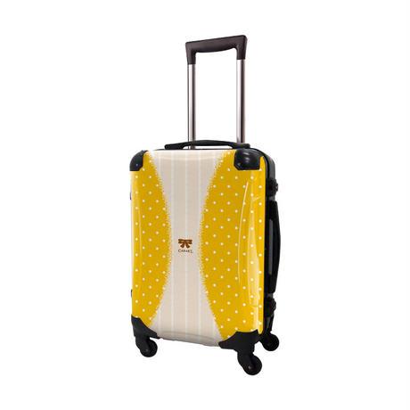 アートスーツケース #CRA01H-010B|プロフィトロール ゆるり2(藤黄)