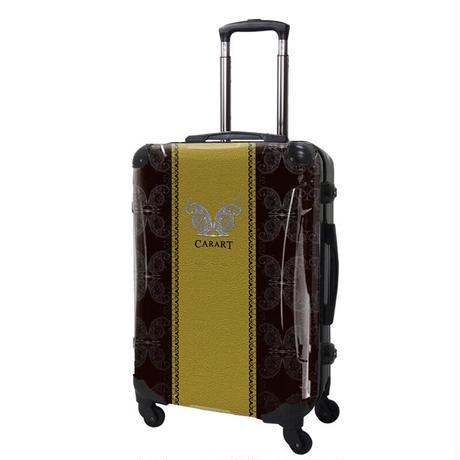 アートスーツケース#CRA03H-004C|ベーシック グラム(ゴールド)