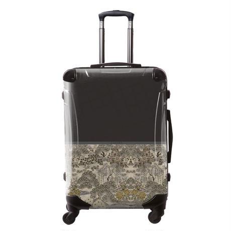 アートスーツケース#CRA03H-018D ジャパニーズモダン 旅人(ダークグレー)