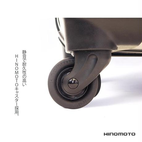アートスーツケース #CRA01H-028F ベーシック カラードット(ネイビー)