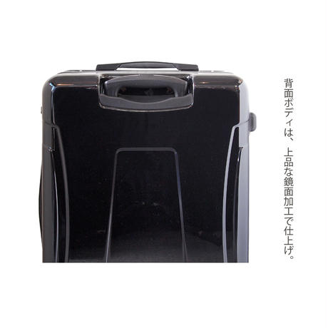 アートスーツケース#CRA03H-018B|ジャパニーズモダン 旅人(ネイビー)
