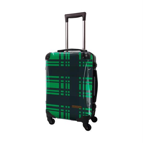 アートスーツケース #CRA01H-023I ベーシック カラーチェックモダン(グリーン4)