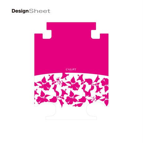 アートスーツケース #CRA01H-006M ベーシック ピポパ(ピンク)