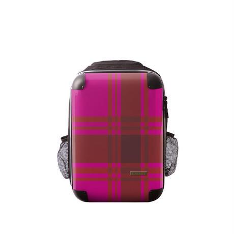 アートリュックサック#CRC02N-023O|ベーシック カラーチェックモダン(ピンク)