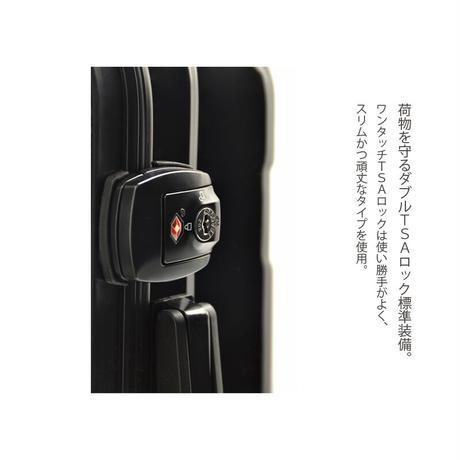 アートスーツケース #CRA01H-045A|ポップニズム シティ(ホワイト×ブラック)