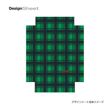 アートスーツケース #CRA01H-023H|ベーシック カラーチェックモダン(グリーン3)