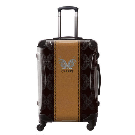 アートスーツケース#CRA03H-004B|ベーシック グラム(オレンジ)