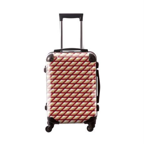 アートスーツケース #CRA01H-021C|ベーシック カウボーイタータン(レッド)