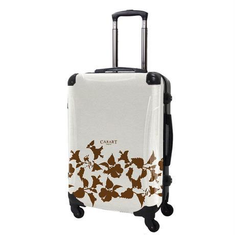 アートスーツケース#CRA03H-006E|ベーシック ピポパ(リーフブラウン)