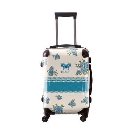 アートスーツケース #CRA01H-029G|プロフィトロール フラワースプレー(サックスブルー)