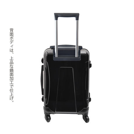 アートスーツケース#CRA01H-J10126|広純 鯉恵(ダークグレー)