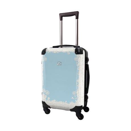 アートスーツケース #CRA01H-051C|プロフィトロール スウィート(ホライズンブルー)