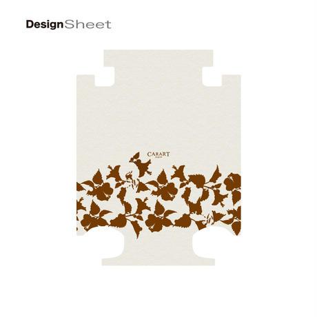アートスーツケース #CRA01H-006E|ベーシック ピポパ(リーフブラウン)