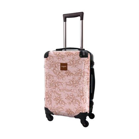 アートスーツケース #CRA01H-002C|デパーチャーズ(ライトピンク)