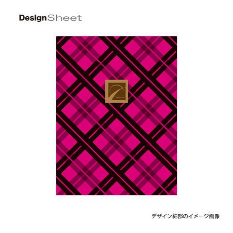 アートスーツケース #CRA01H-022E ベーシック スペースチェック(ブラック×ピンク)