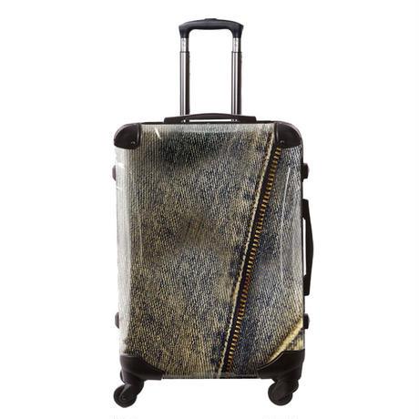アートスーツケース#CRA03H-025A|ポップニズム デニム(ブルー)