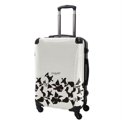 アートスーツケース#CRA03H-006H|ベーシック ピポパ(リーフブラック)