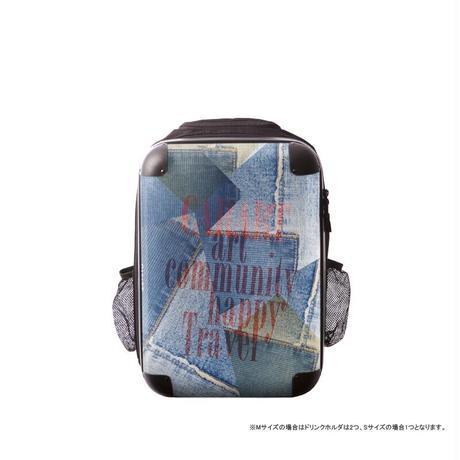 アートリュックサック#CRCN02-025E|ポップニズム デニム(コラージュブルー3)