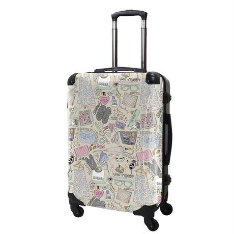 アートスーツケース#CRA03H-J01309|ScoLar|スカラーガールズポップ02