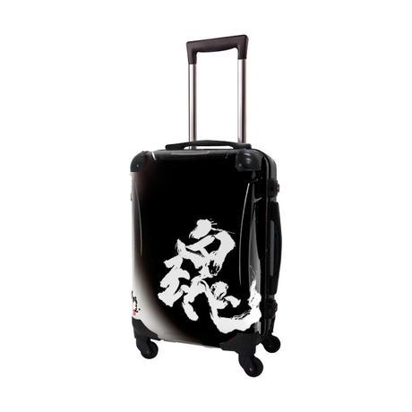 アートスーツケース#CRA01H-J10636|古屋育子 魂(black)