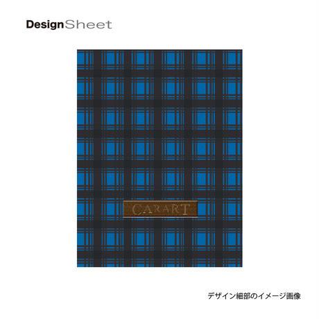 アートスーツケース #CRA01H-023A ベーシック カラーチェックモダン(ブルー1)