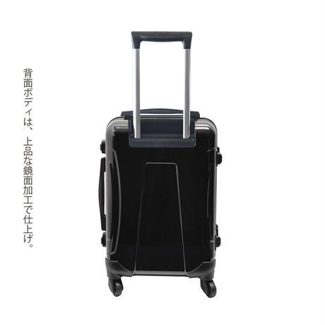 アートスーツケース #CRA01H-022B ベーシック スペースチェック(イエロー×ブラック)