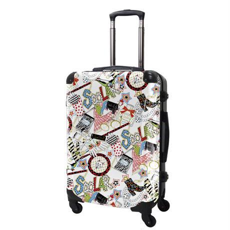 アートスーツケース#CRA03H-J01301|ScoLar|スカラーガールズポップ