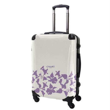 アートスーツケース#CRA03H-006F|ベーシック ピポパ(リーフラベンダー)
