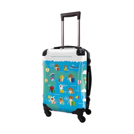 アートスーツケース#CRA01H-J01201 なめこ栽培キット 世界旅行