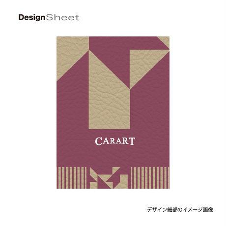 アートスーツケース #CRA01H-016I ポップニズム ノベル(ソフトピンク×ベージュ