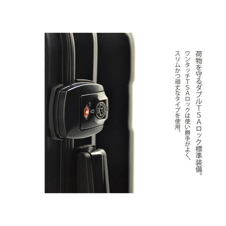 アートスーツケース#CRA03H-J10143|広純 dragon(ブラック)